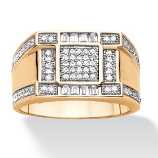Ultimate Men's Cubic Zirconia Ring