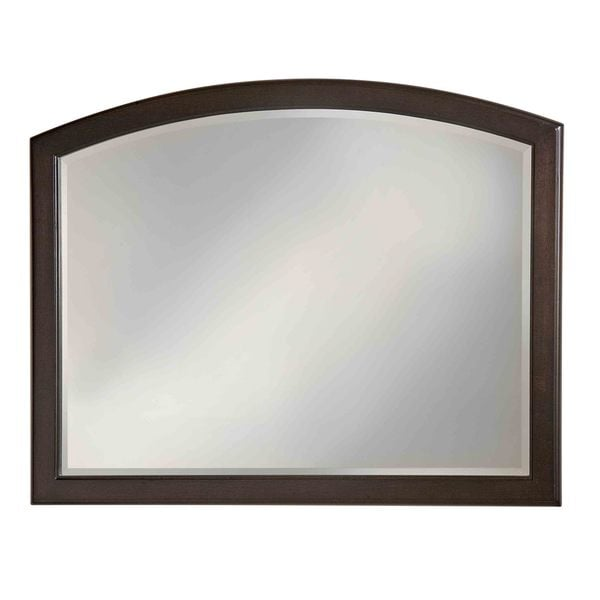 Charles Town Country Sepia-finish Traditional Mirror