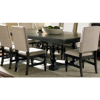 Greyson Living Loraine Antique Charcoal Trestle Dining Table