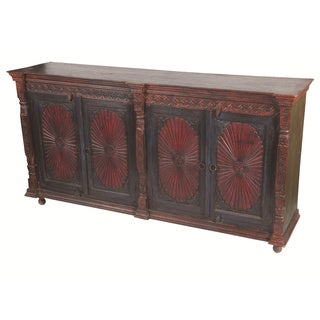 Historic 4 Carved Door Buffet