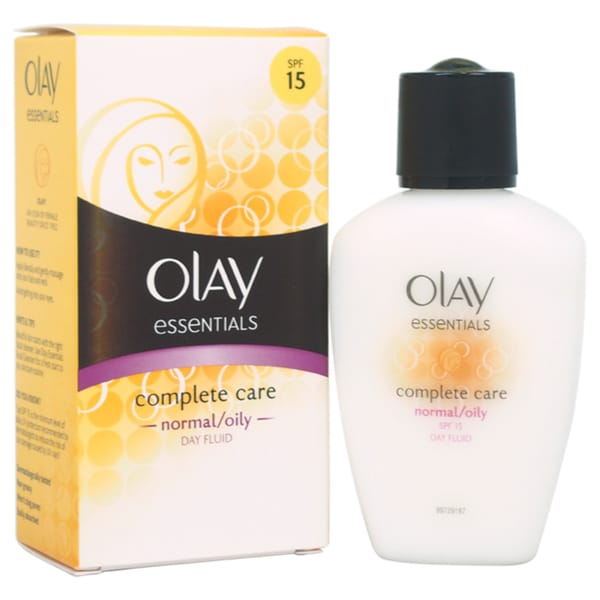 Olay Complete Care SPF 15 Day Fluid Normal/Oily Women's 3.4-ounce Fluid Makeup