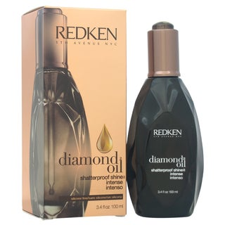 Redken Diamond Oil Shatterproof Shine Intense Coarse Hair 3.4-ounce Oil Treatment