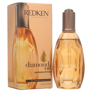 Redken Diamond Oil Shatterproof Shine Silicone FreeMedium HairUnisex 3.4-ounce Oil treat
