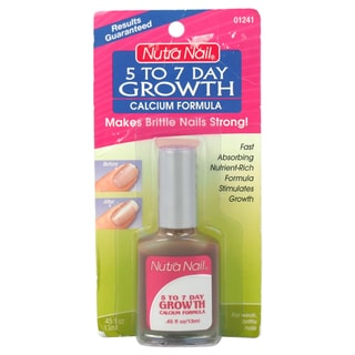 Nutra Nail Women's 0.45-ounce 5 To 7 Day Growth Calcium Nail Formula