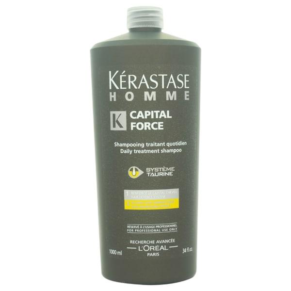 Kerastase Homme Capital Force Daily Treatment 34-ounce Shampoo