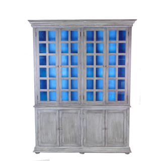 Belleview 8 Door Cabinet with Hutch & Base (Cool)