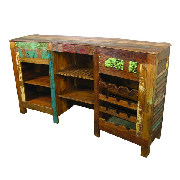 Beech Bar Counter