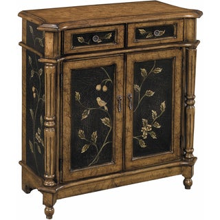 Lucca Vine and Bird Hand-painted Accent Chest