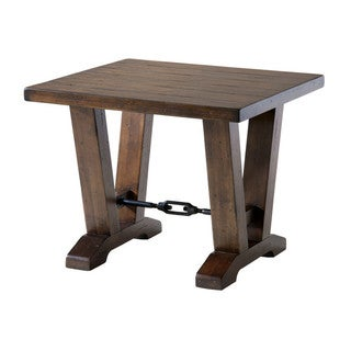 Westport Distressed Cherry Rustic End Table