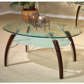 Catalina Glass Top Coffee Table