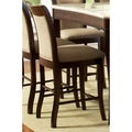 Madaleine Merlot Cherry Counter-height Dining Chair (Set of 2)