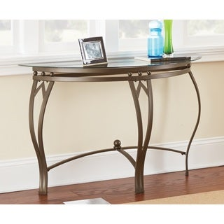 Greyson Living Maison Glass-top Sofa Table