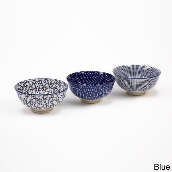 IMPULSE! Osaka Patterned Bowls (Set of 6)