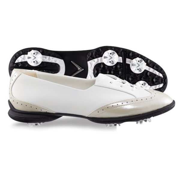 Callaway Womens Rhiona White/Bone Golf Shoes