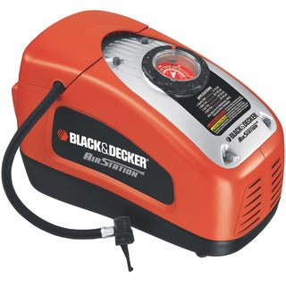 Black & Decker AirStation AC/DC Dual Powered Inflator