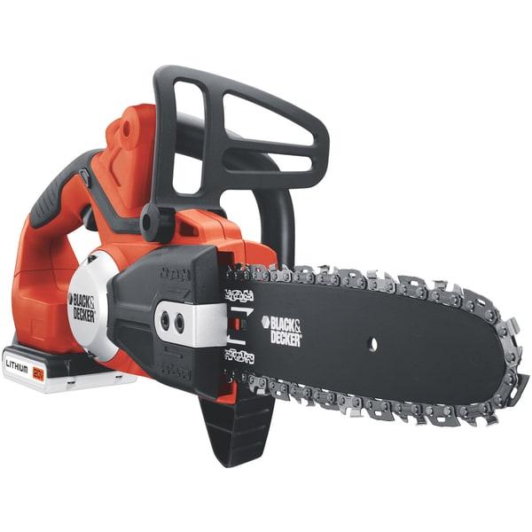Black & Decker 20V Max Lithium Cordless Chain Saw