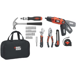 Black & Decker 3.6V Lithium Screwdrive Kit