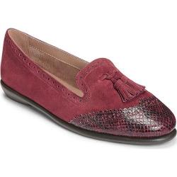 Women's Aerosoles Winning Bet Wine Suede/Snake