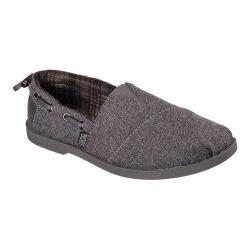Women's Skechers BOBS Chill Luxe Slip On Charcoal