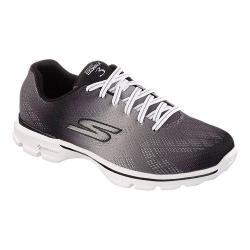 Women's Skechers GOwalk 3 Pulse Sneaker Black/White