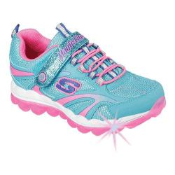 Girls' Skechers Magic Lites Skech Air Lights Sneaker Blue/Multi