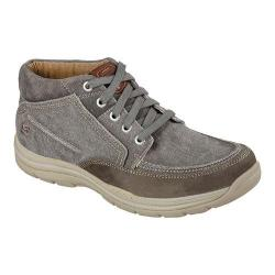 Men's Skechers Relaxed Fit Expected Bremo High Top Charcoal