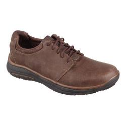 Men's Skechers Relaxed Fit Glides Erwin Oxford Chocolate