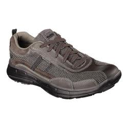 Men's Skechers Relaxed Fit Glides Status Sneaker Charcoal
