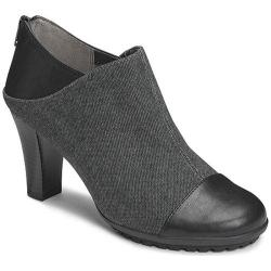 Women's Aerosoles Commentary Ankle Boot Black Fabric/Faux Leather