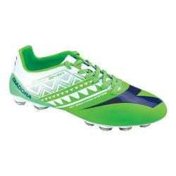 Men's Diadora DD-NA 3 GLX 14 Soccer Cleat Fluo Green/White