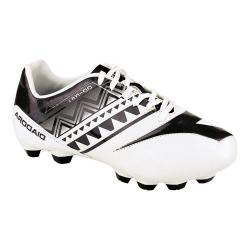 Children's Diadora DD-NA 3 R LPU JR Soccer Cleat White/Black
