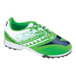 Children's Diadora DD-NA 3 R TF JR Soccer Cleat Fluo Green/White