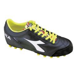 Men's Diadora Italica 3 LT MD PU 25 Soccer Cleat Black/White