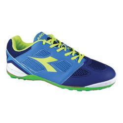 Men's Diadora Quinto V ID Soccer Shoe Navy/Royal
