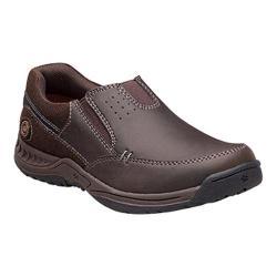 Boys' Nunn Bush High Cliff Jr. Moc-Toe Slip-On Brown Leather