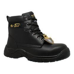 Men's AdTec 9636 6in Steel Toe Work Boot Black