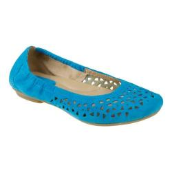 Women's Earth Breeze Turquoise Suede