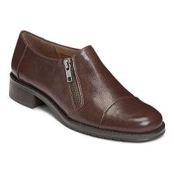 Women's A2 by Aerosoles Fast Ride Brown Faux Leather