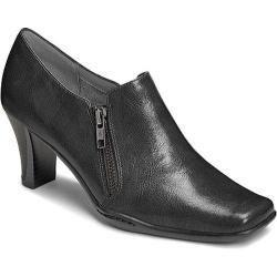 Women's Aerosoles Cinternational Bootie Black Faux Leather