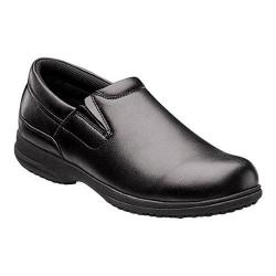 Men's Nunn Bush Sven Work Clog Black Leather