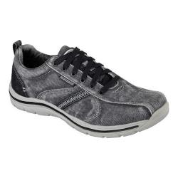 Men's Skechers Relaxed Fit Expected Braiden Sneaker Dark Gray
