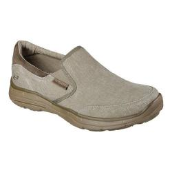 Men's Skechers Relaxed Fit Glides Adamant Slip On Taupe