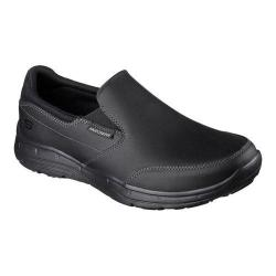 Men's Skechers Relaxed Fit Glides Calculous Slip On Black