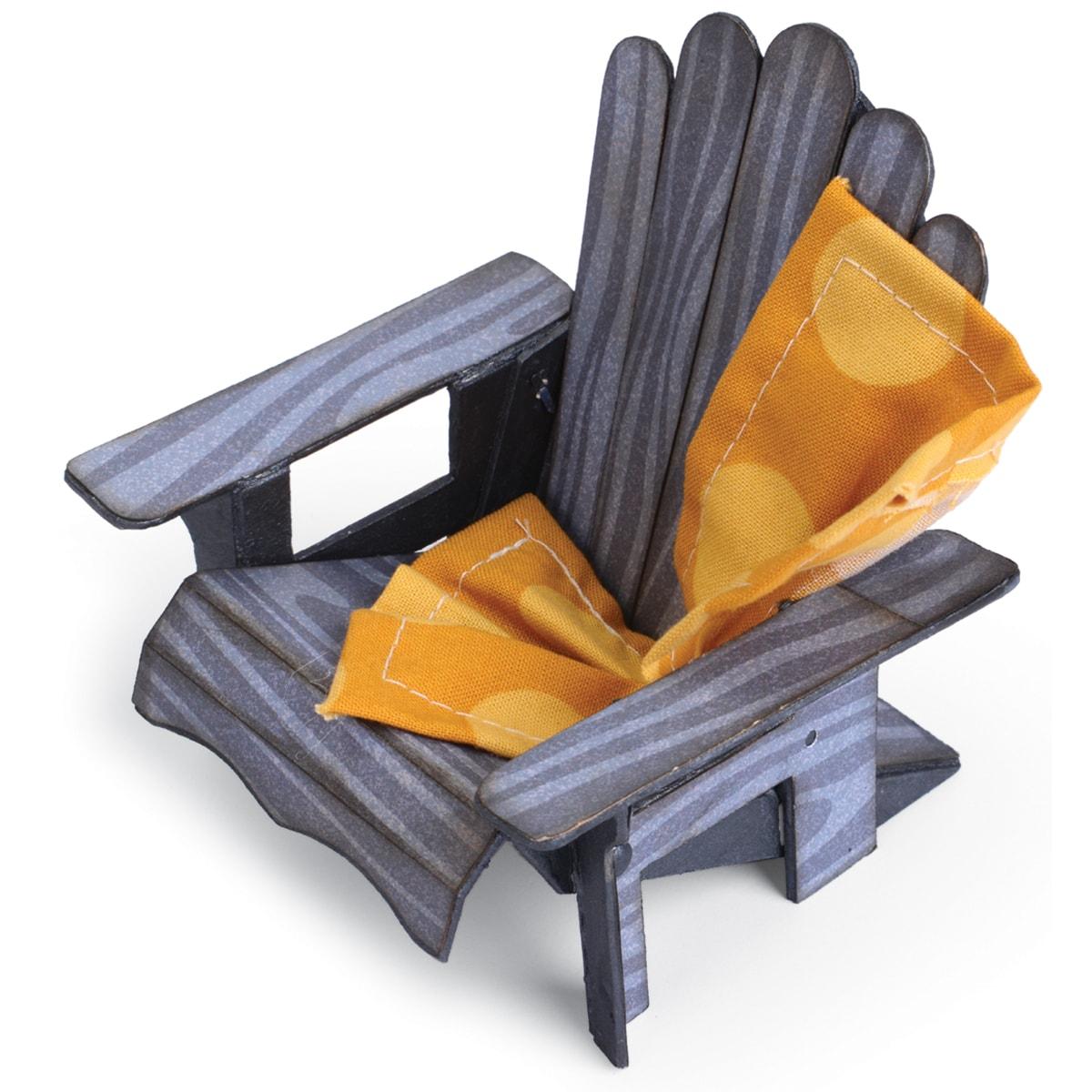 Sizzix ScoreBoards XL Die 6inX13.75in3D Adirondack Chair
