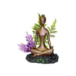 Zen Concepts Zen Girl With Plant 5 X 4.5 X 5.75