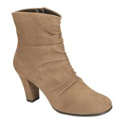 Women's Aerosoles Good Role Ankle Boot Taupe Fabric
