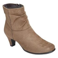 Women's Aerosoles Red Light Taupe Faux Suede
