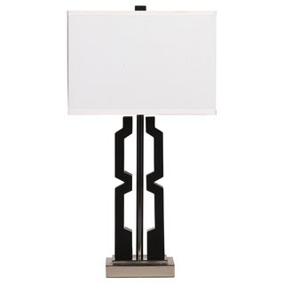 Signature Design by Ashley Mitzi Black Poly Table Lamp (Set of 2)