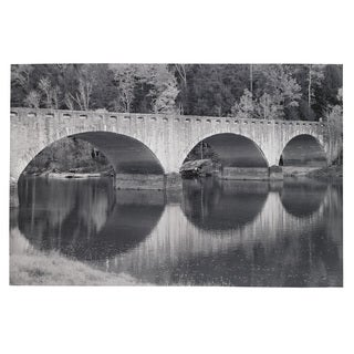 Signature Design by Ashley 'Beauan' Black and White Bridge Wall Art