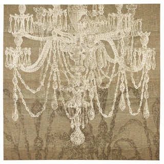 Signature Design by Ashley 'Blysse' Chandelier Wall Art